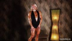 Brigita Brezovac big female bodybuilder milf, enjoy the tight female ass
