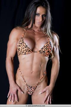 IFBB Pro Figure Competitor from Spain Sheila Rock photos 2 hot workout has a fabulous sports body